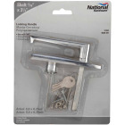 National 7-1/2 In. Outside Garage Door Handle with Lock Cylinder Image 2