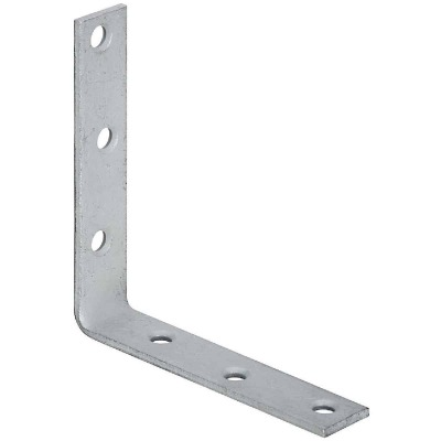 National Catalog 115 5 In. x 1 In. Galvanized Corner Brace