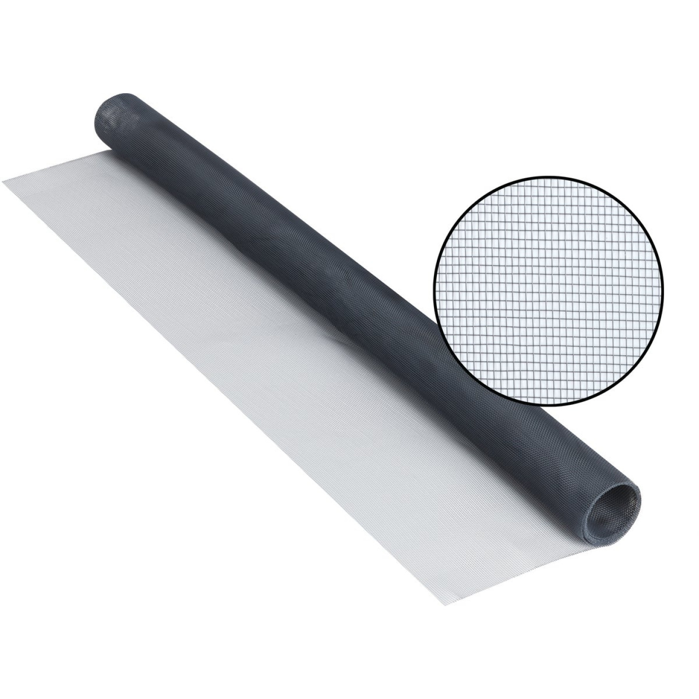 Phifer 24 In. x 84 In. Charcoal Aluminum Screen Ready Rolls Image 1
