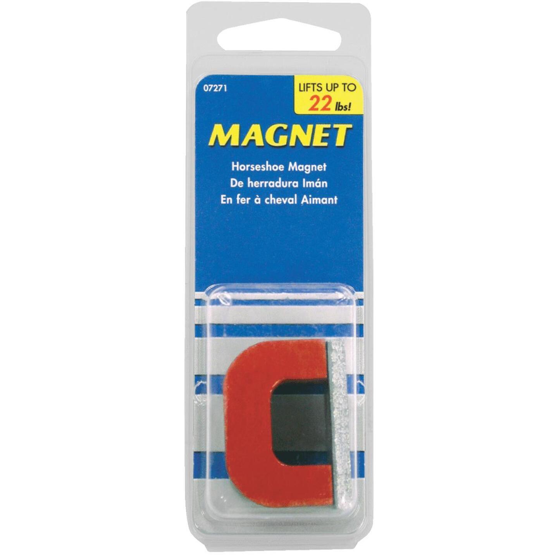 Master Magnetics 22 Lb. Horseshoe Alnico Power Magnet Image 2