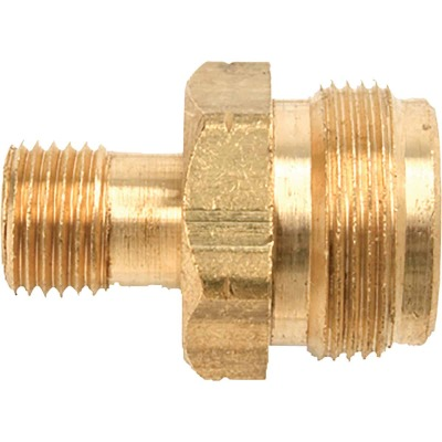 MR. HEATER 1 In.-20 TCT x 9/16 In. MPT Brass LP Cylinder Adapter