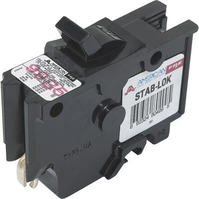 Connecticut Electric 15A Single-Pole Standard Trip Packaged Replacement Circuit Breaker For Federal Pacific